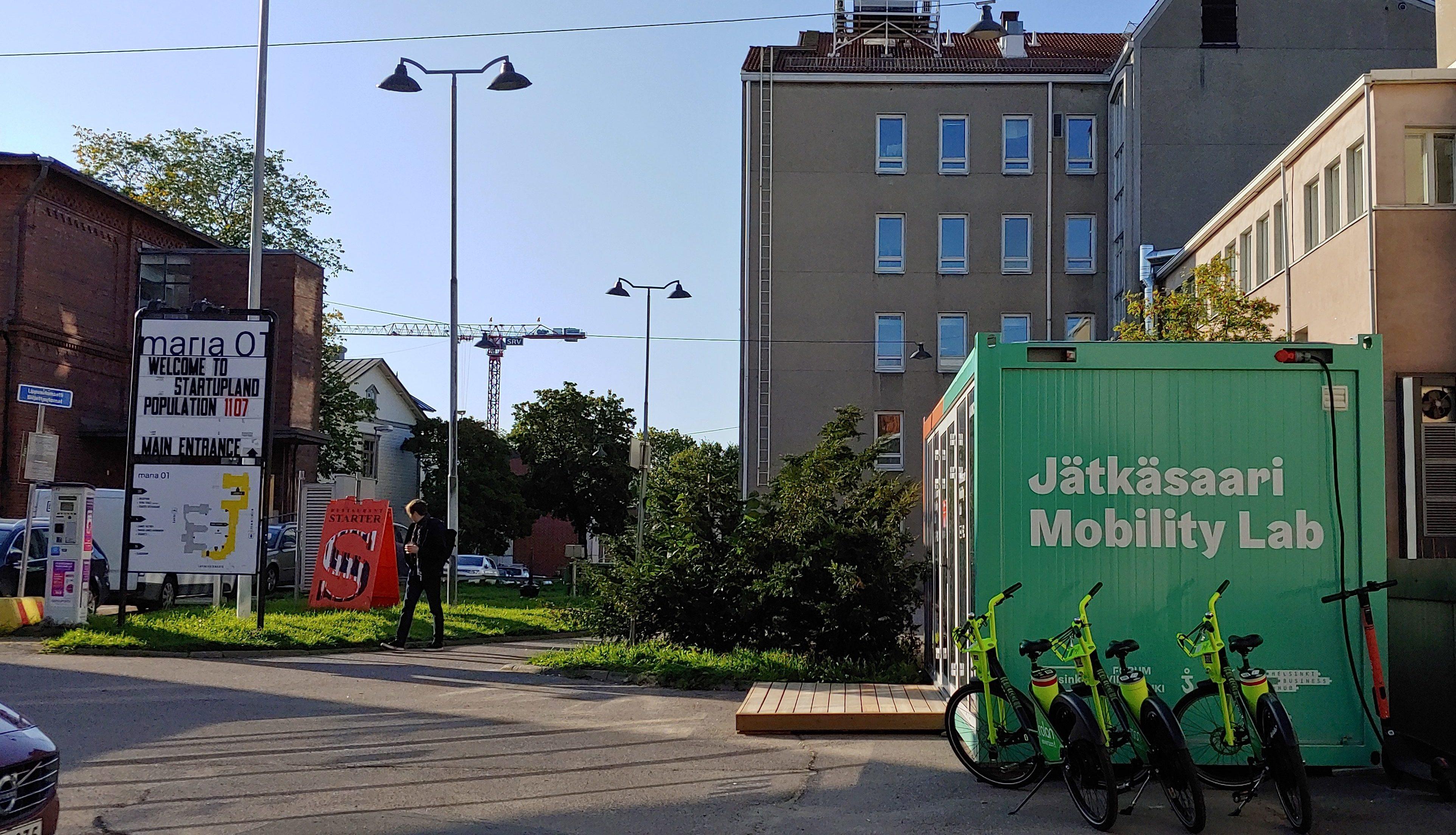 Jätkäsaari Mobility Lab Launchpad