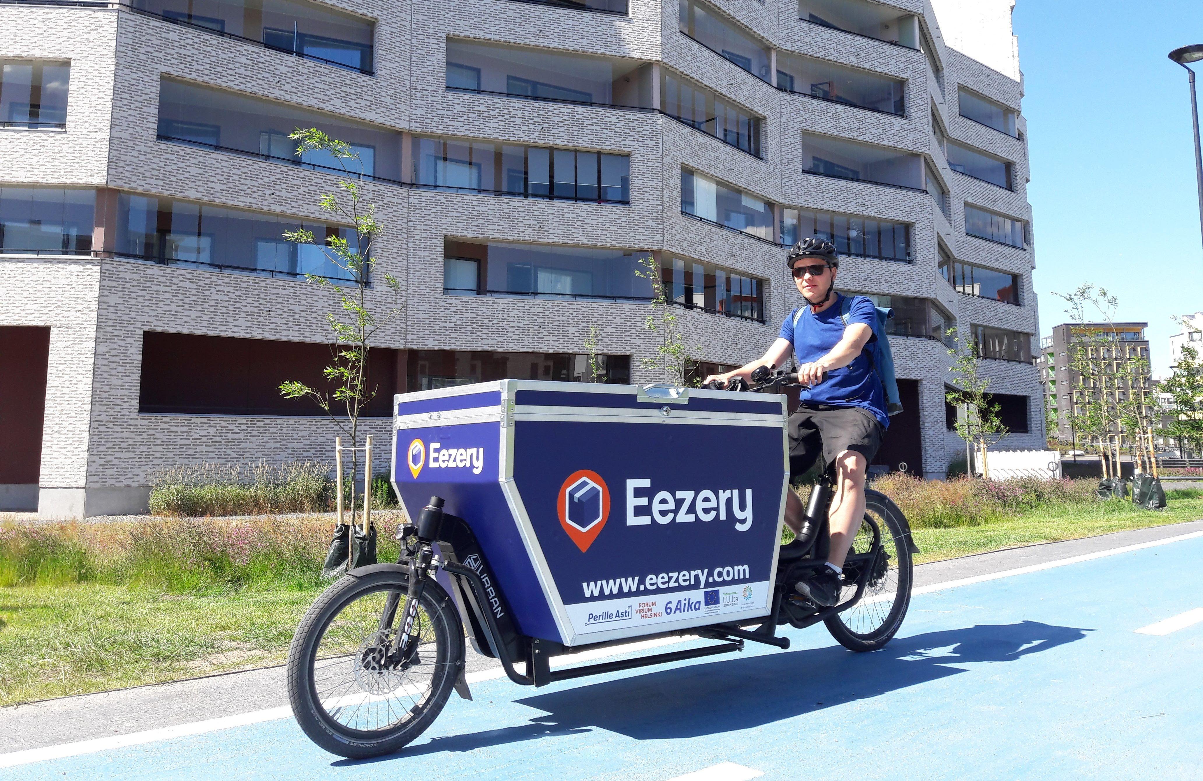 Eezery cargo bikes