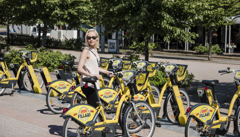 City bike service in Helsinki