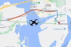 Drone path